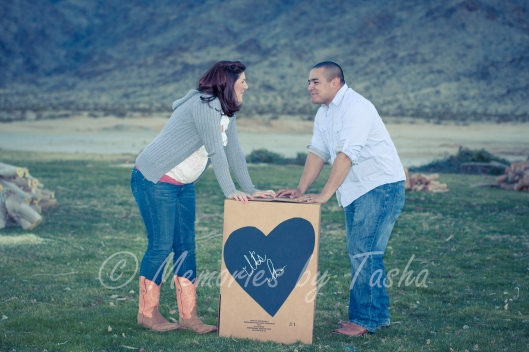 Twentynine Palms Photographer - Maternity Photography - Gender Announcement Photography-17