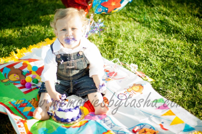 Twentynine Palms Photographer - Cake Smash Photography - Children's Photographer-33