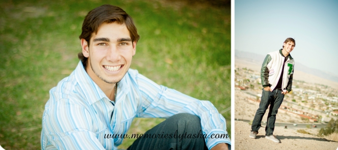 Twentynine Palms Photographer - Senior Sessions - Cole