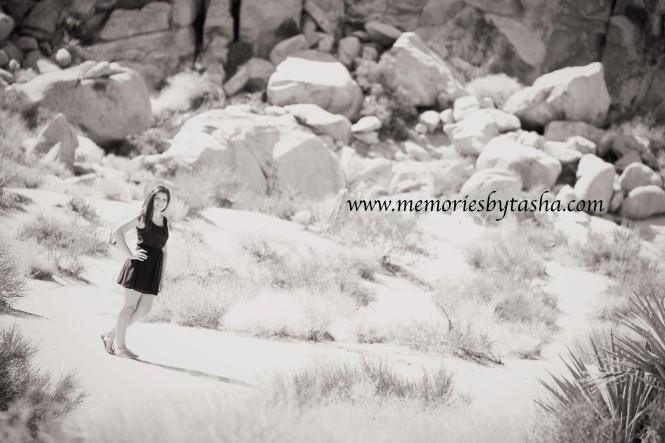 Twentynine Palms Photographer - Joshua Tree Monument Photography - Birthday Photography Session - Alexa 04