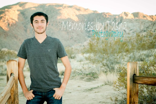 Twentynine Palms Photographer - High School Senior Photography - Zach Kanlong 4