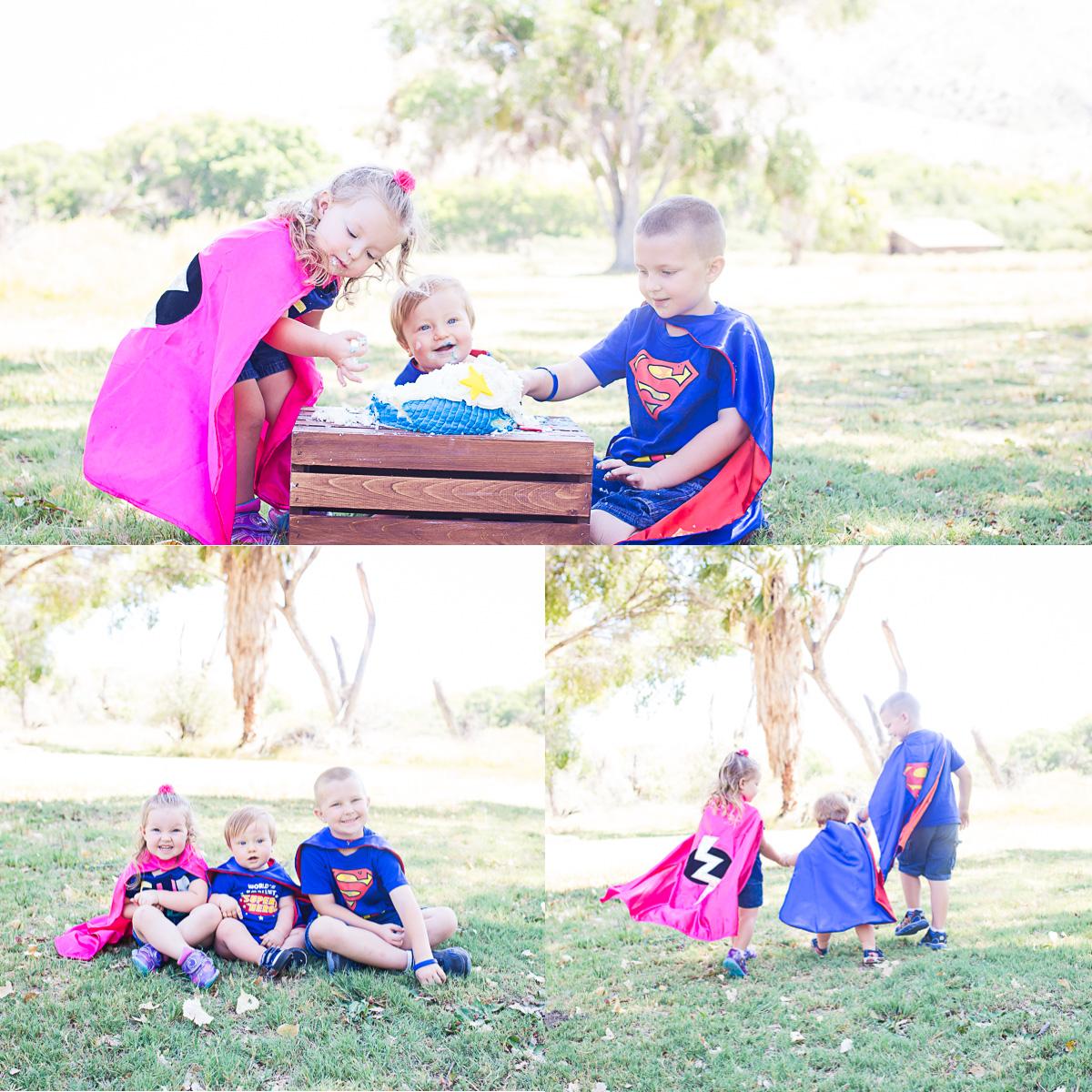Twentynine Palms Children's  Photography - Yucca Valley Children's Photography - Twentynine Palms Cake Smash Sessions - Yucca Valley Cake Smash Sessions (Rader 3)